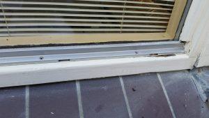 Aluminium ventilatiestrip veroorzaakt vaak houtrot